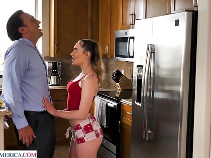Cur� can't depose no nigh sex-starved stepdaughter Sera Ryder