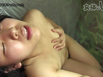 Japanese amateur young lady solo