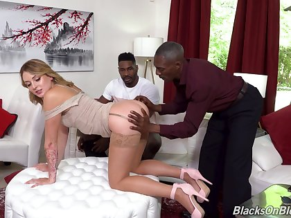 Wife gets blacked down and made to swallow rivers of cum