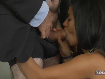 Mature Businessman Sex With Secretary