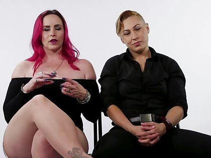Decoration Test: Lesbian Switching in Bound Orgasms