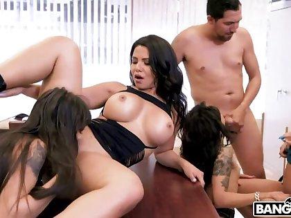 Huge Office Orgy